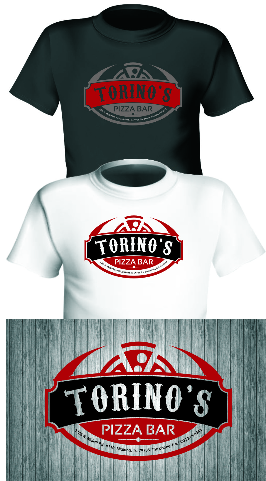 Custom Design by RasYa Muhammad Athaya - Entry No. 43 in the Custom Design Contest Torino's Pizza Bar Custom Design.