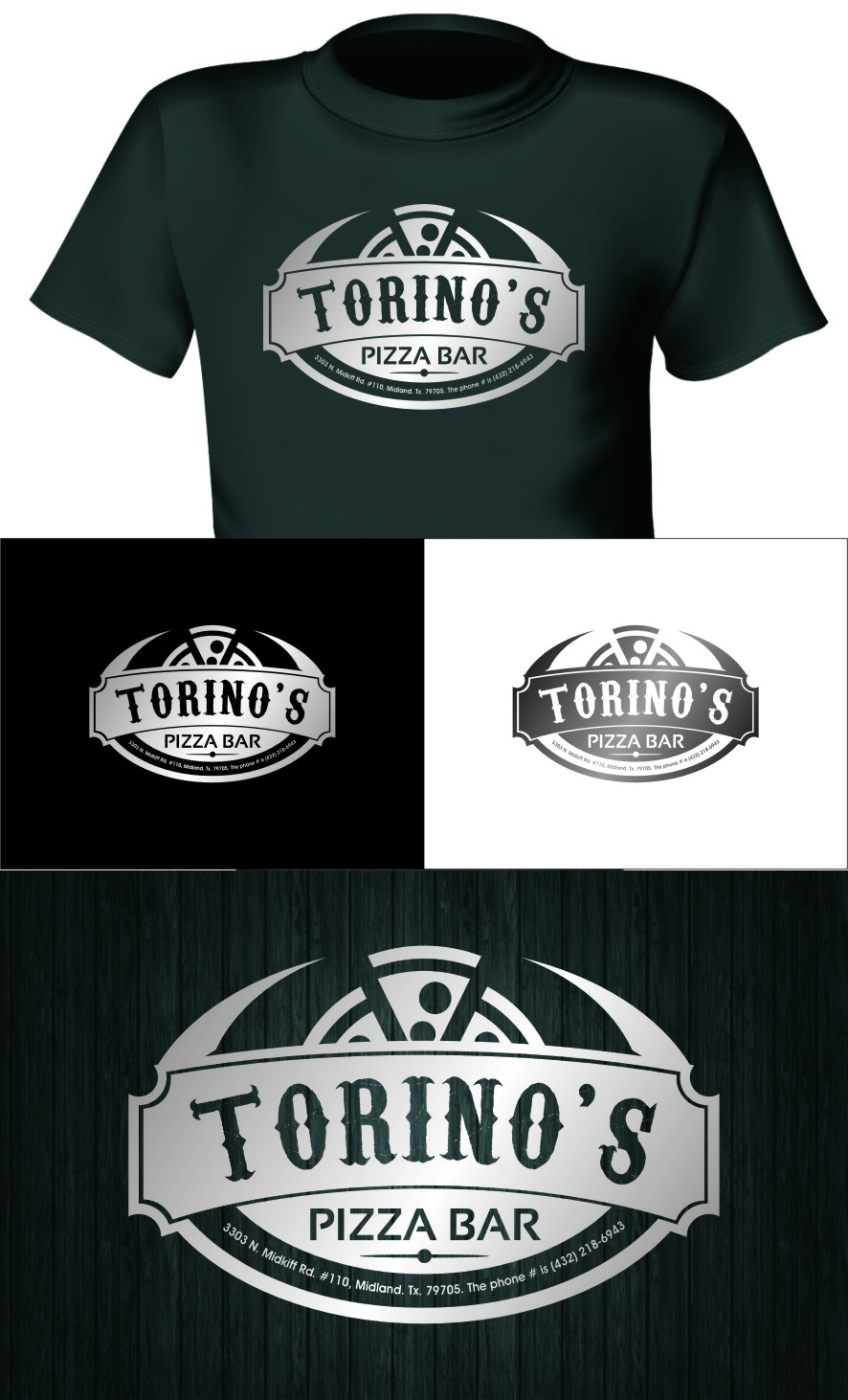 Custom Design by RasYa Muhammad Athaya - Entry No. 44 in the Custom Design Contest Torino's Pizza Bar Custom Design.