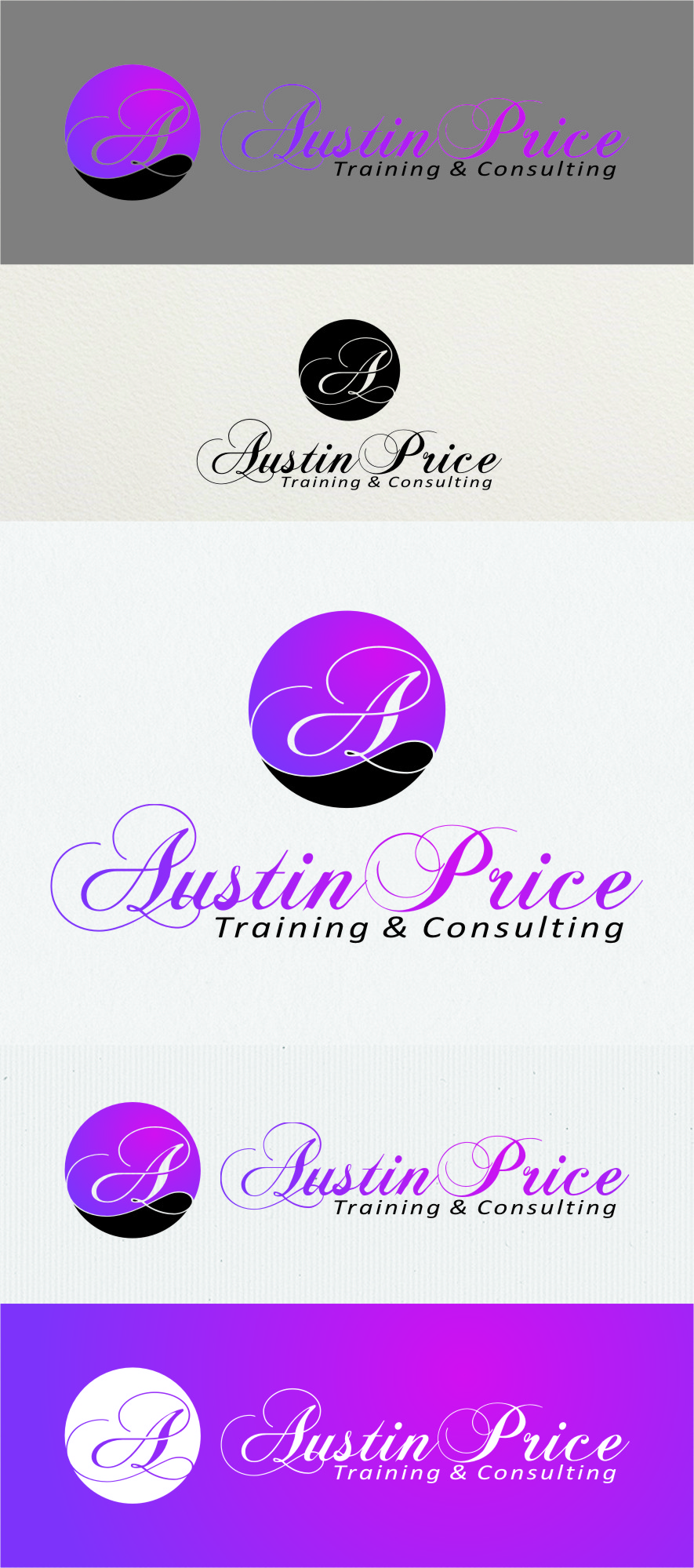Logo Design by Ngepet_art - Entry No. 167 in the Logo Design Contest Artistic Logo Design for Austin Price Advisory.