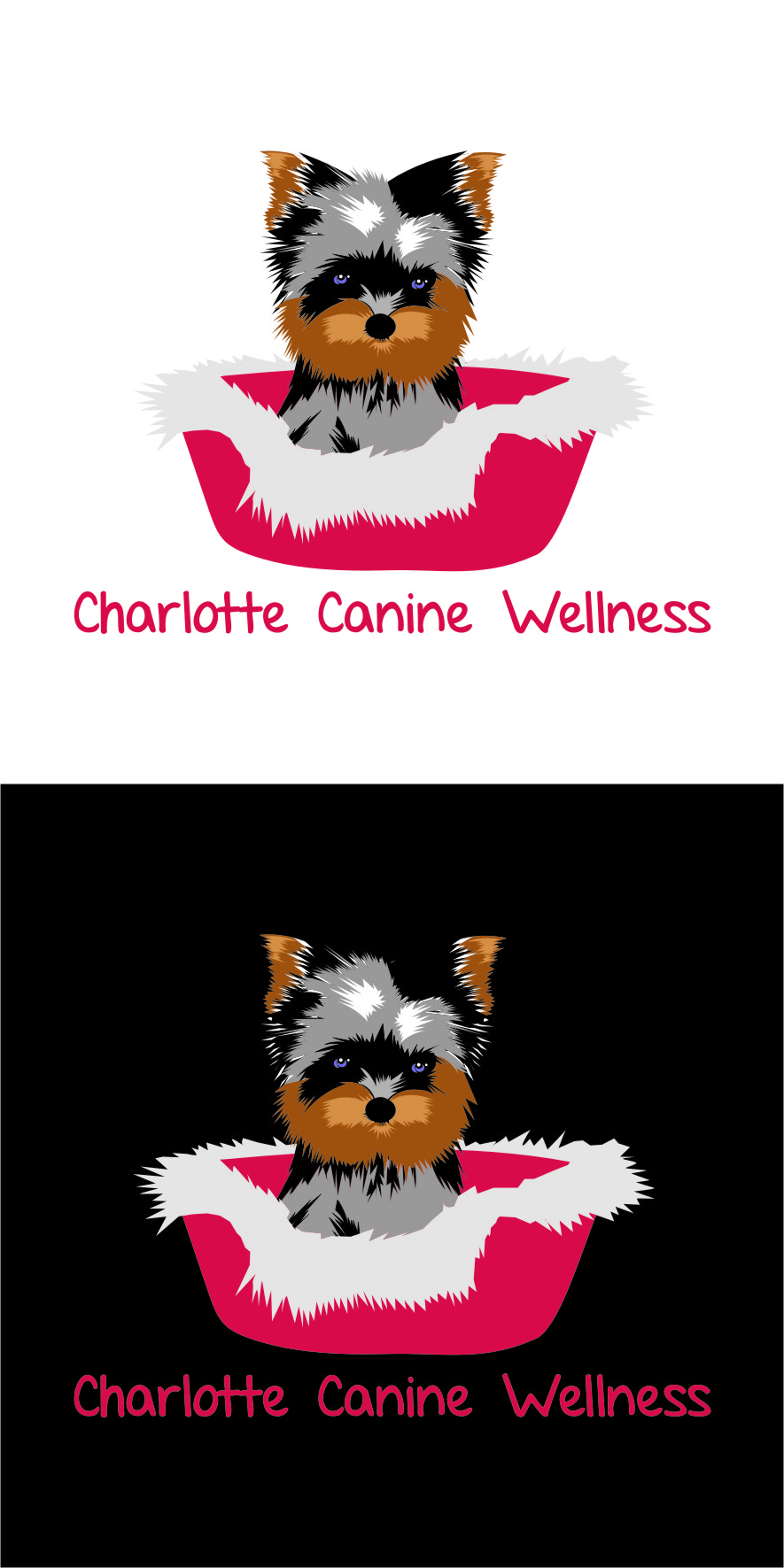 Logo Design by RasYa Muhammad Athaya - Entry No. 22 in the Logo Design Contest New Logo Design for Charlotte Canine Wellness.