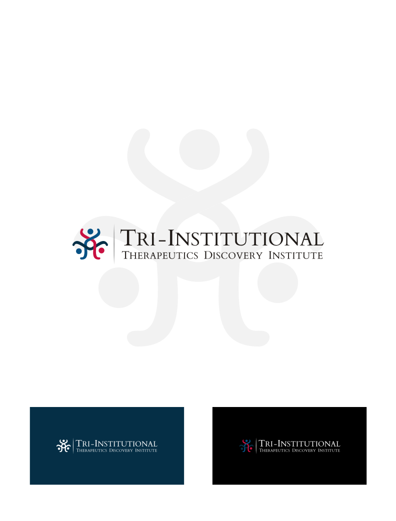Logo Design by Atik Atulumamah - Entry No. 126 in the Logo Design Contest Inspiring Logo Design for Tri-Institutional Therapeutics Discovery Institute.
