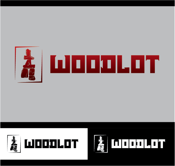 Logo Design by Chris Cowan - Entry No. 25 in the Logo Design Contest Fun Logo Design for woodlot.