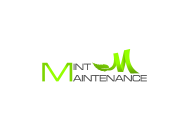 Logo Design by Private User - Entry No. 219 in the Logo Design Contest Creative Logo Design for Mint Maintenance.