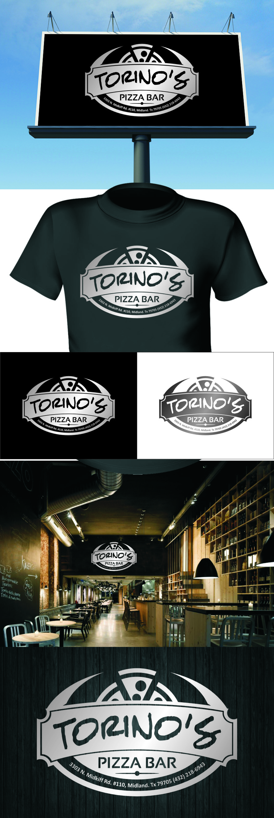 Custom Design by RasYa Muhammad Athaya - Entry No. 45 in the Custom Design Contest Torino's Pizza Bar Custom Design.