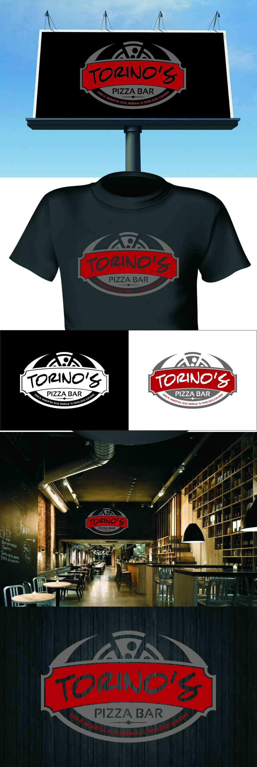 Custom Design by Ngepet_art - Entry No. 46 in the Custom Design Contest Torino's Pizza Bar Custom Design.