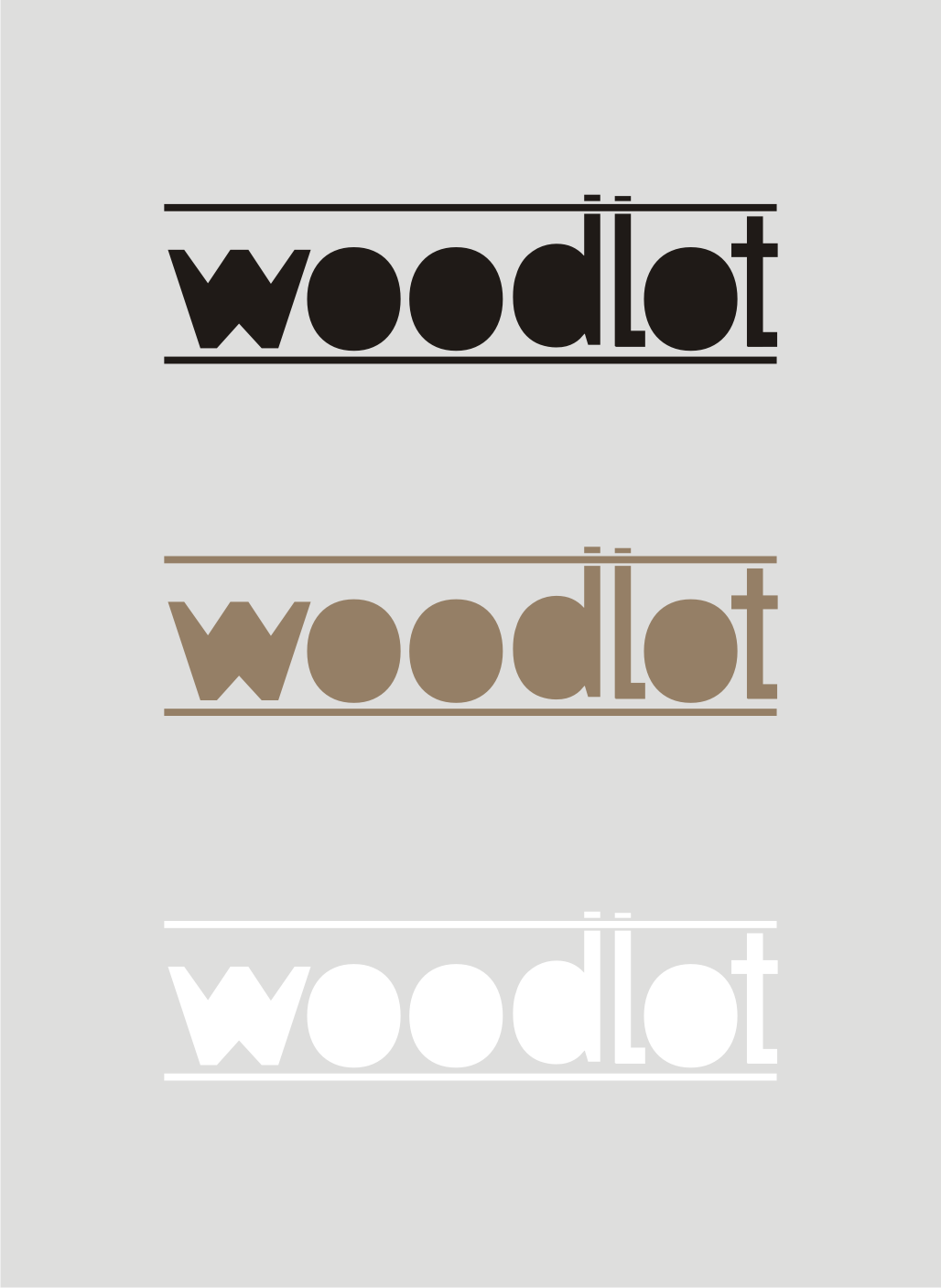 Logo Design by Nthus Nthis - Entry No. 28 in the Logo Design Contest Fun Logo Design for woodlot.