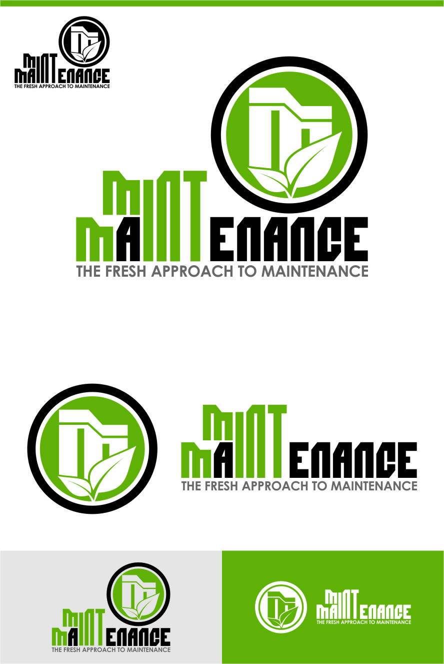 Logo Design by Ngepet_art - Entry No. 220 in the Logo Design Contest Creative Logo Design for Mint Maintenance.