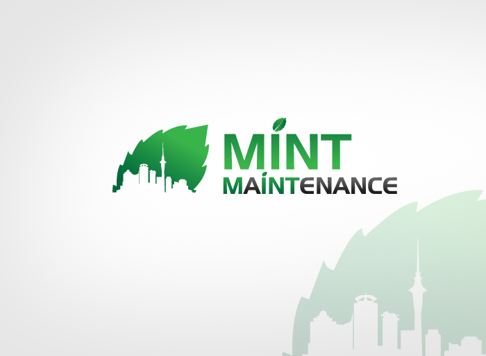 Logo Design by Jan Chua - Entry No. 221 in the Logo Design Contest Creative Logo Design for Mint Maintenance.
