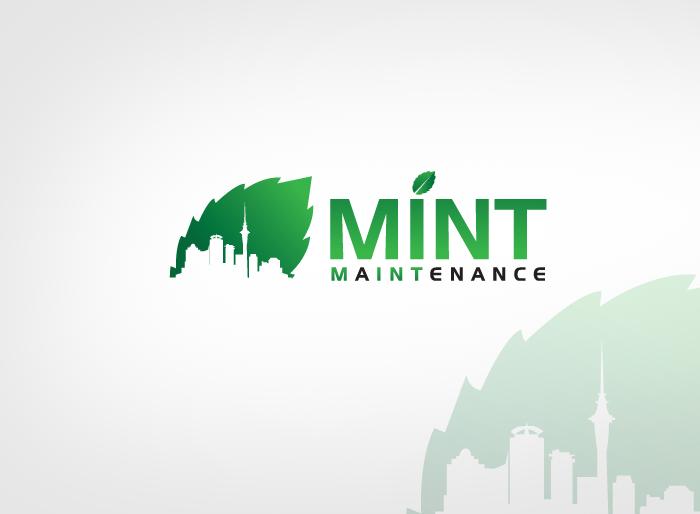 Logo Design by Jan Chua - Entry No. 222 in the Logo Design Contest Creative Logo Design for Mint Maintenance.