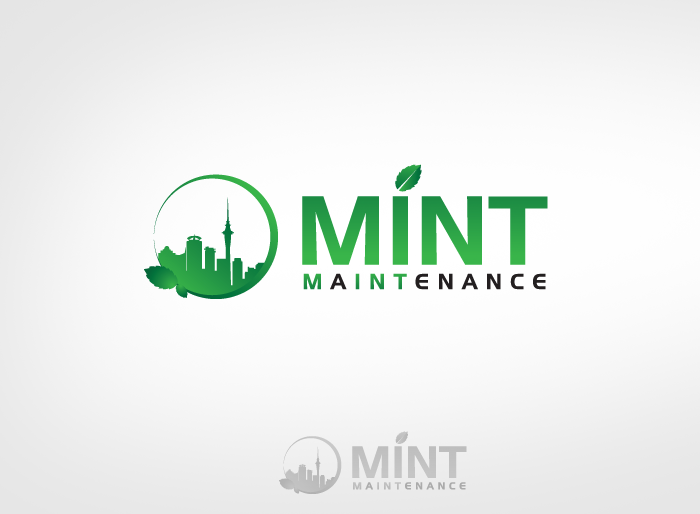 Logo Design by Jan Chua - Entry No. 223 in the Logo Design Contest Creative Logo Design for Mint Maintenance.