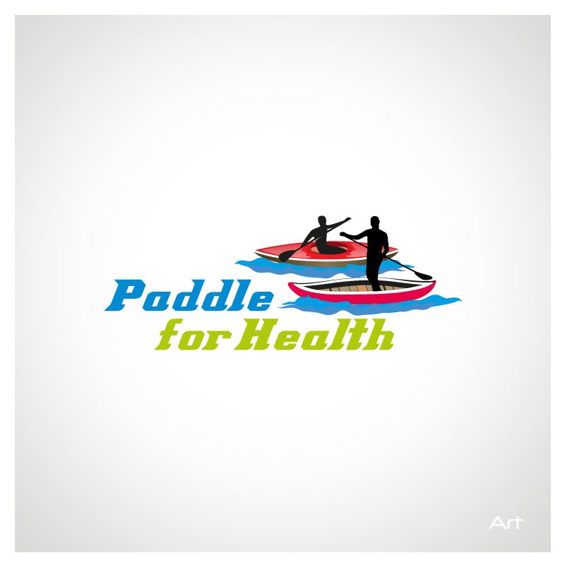 Logo Design by Puspita Wahyuni - Entry No. 22 in the Logo Design Contest Creative Logo Design for Paddle for Health.