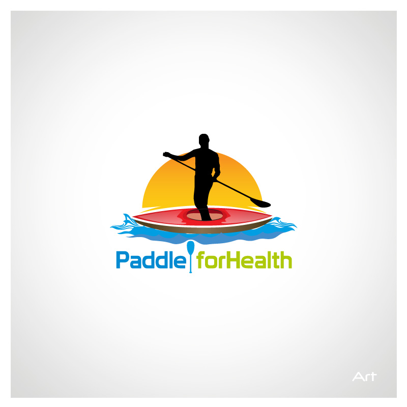 Logo Design by Puspita Wahyuni - Entry No. 23 in the Logo Design Contest Creative Logo Design for Paddle for Health.