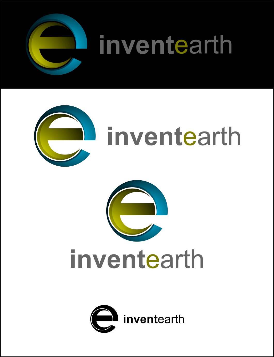 Logo Design by Agus Martoyo - Entry No. 134 in the Logo Design Contest Artistic Logo Design for Invent Earth.