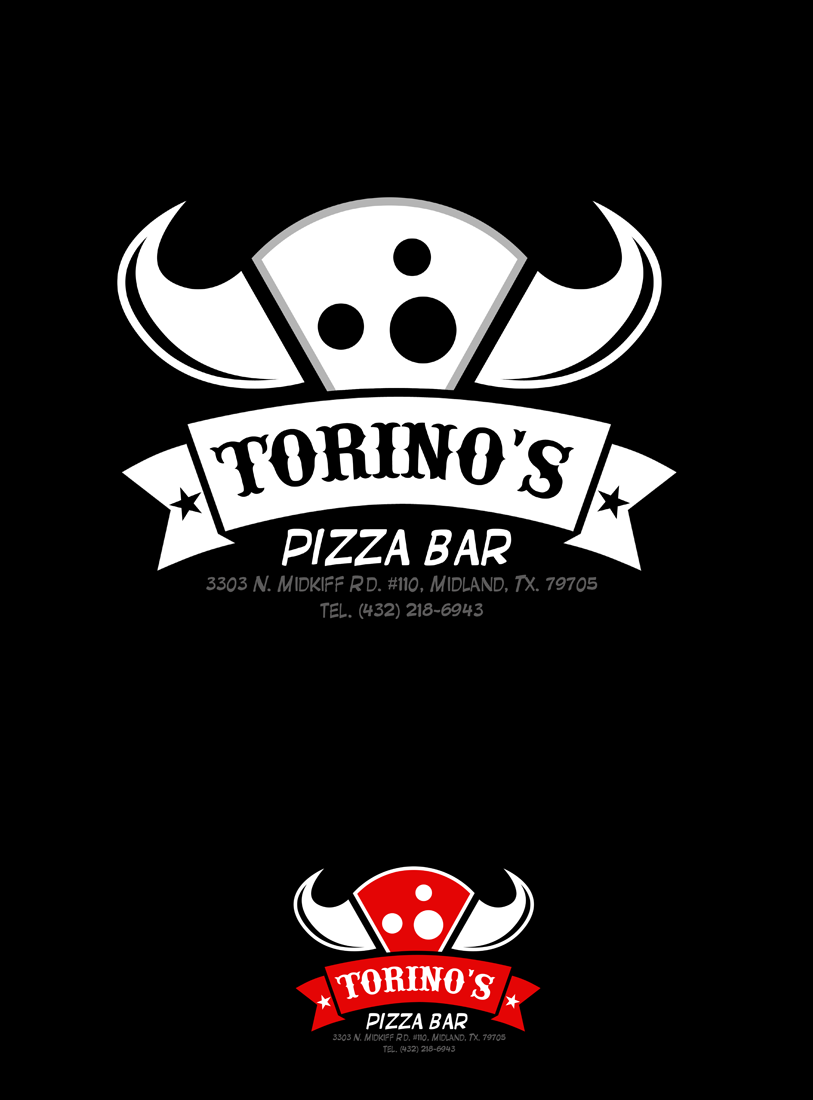 Custom Design by Private User - Entry No. 48 in the Custom Design Contest Torino's Pizza Bar Custom Design.