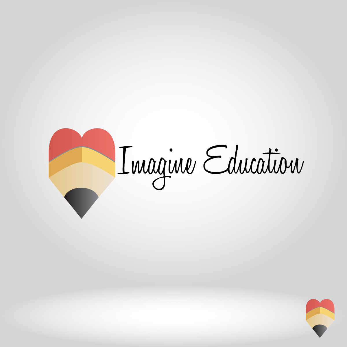 Logo Design by dottDesign - Entry No. 19 in the Logo Design Contest Imagine Education.