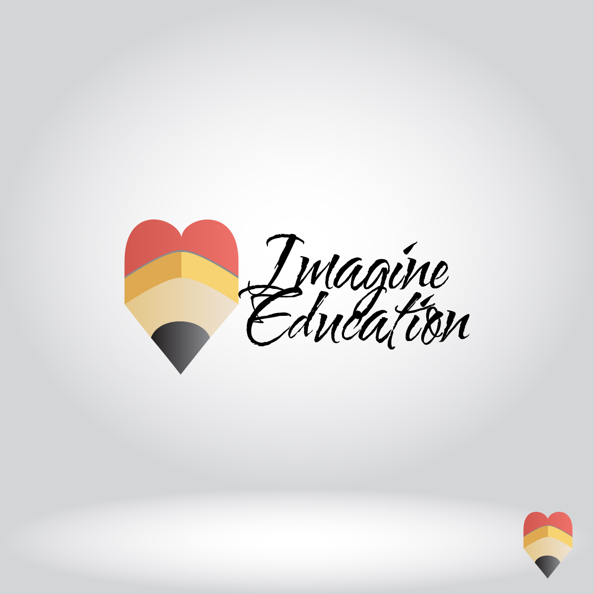 Logo Design by dottDesign - Entry No. 20 in the Logo Design Contest Imagine Education.
