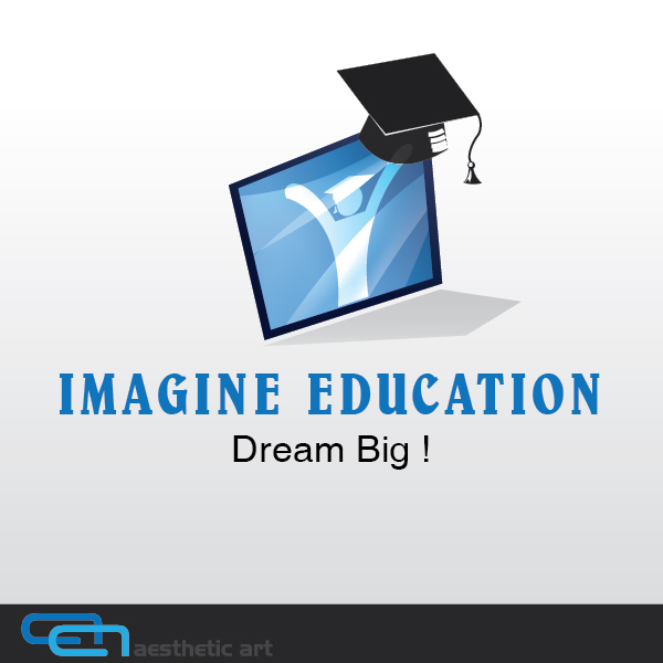Logo Design by aesthetic-art - Entry No. 22 in the Logo Design Contest Imagine Education.