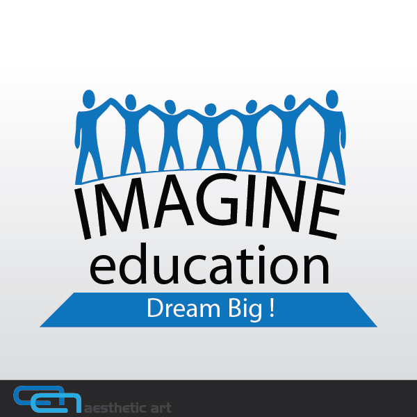 Logo Design by aesthetic-art - Entry No. 24 in the Logo Design Contest Imagine Education.