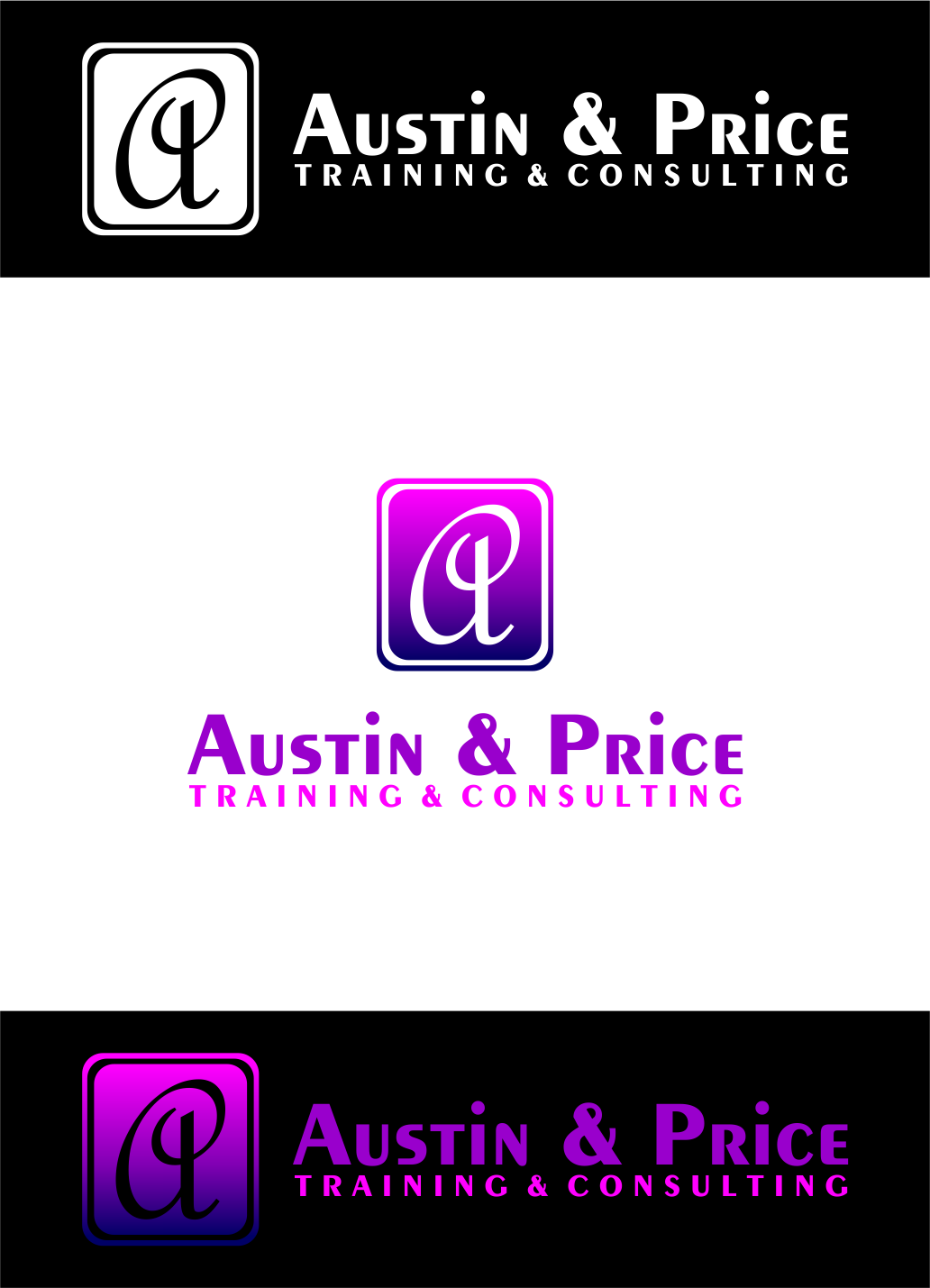 Logo Design by Agus Martoyo - Entry No. 196 in the Logo Design Contest Artistic Logo Design for Austin Price Advisory.
