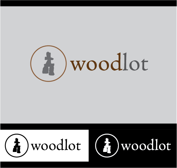 Logo Design by Chris Cowan - Entry No. 37 in the Logo Design Contest Fun Logo Design for woodlot.