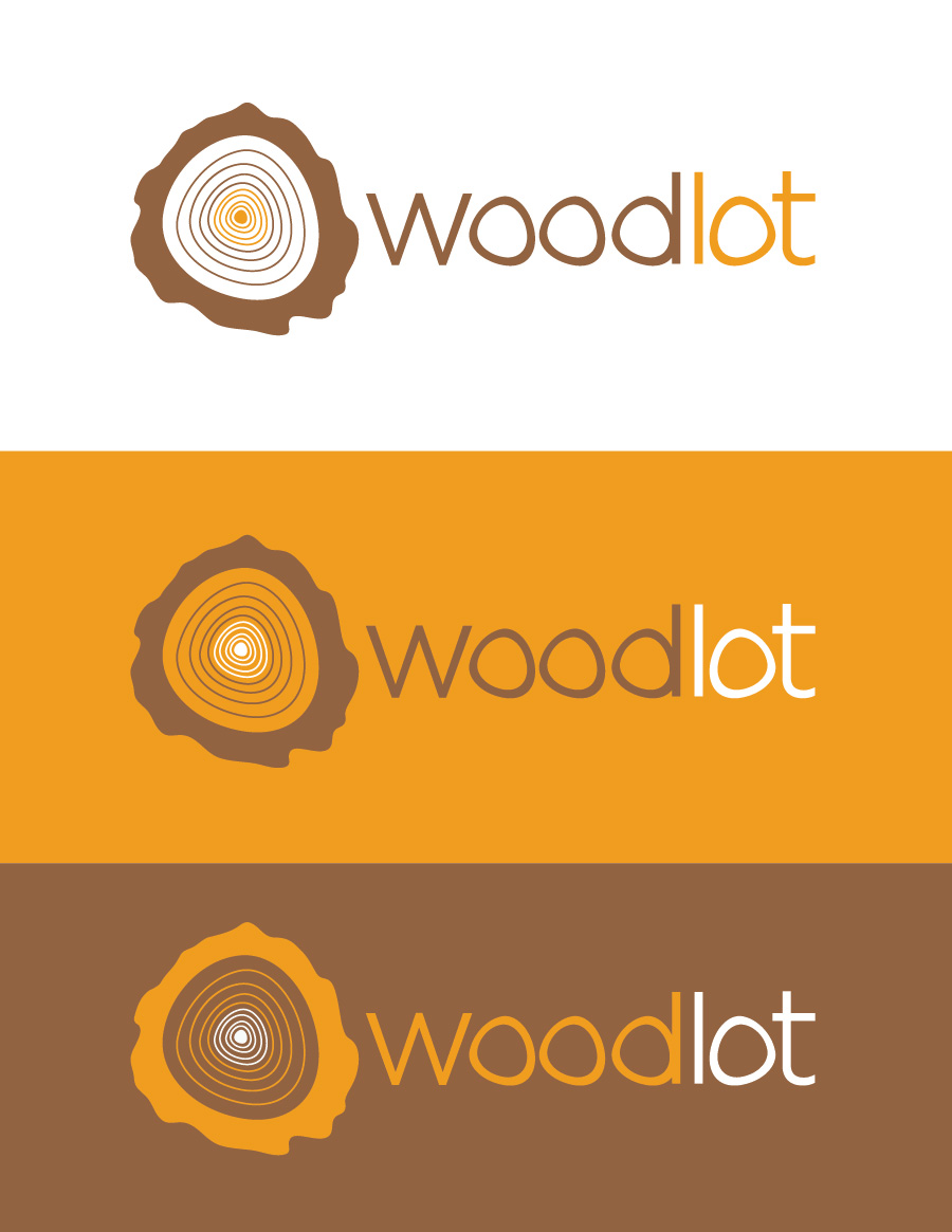 Logo Design by Christina Evans - Entry No. 38 in the Logo Design Contest Fun Logo Design for woodlot.