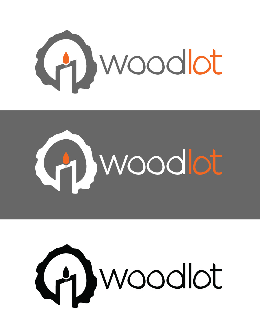 Logo Design by Christina Evans - Entry No. 39 in the Logo Design Contest Fun Logo Design for woodlot.