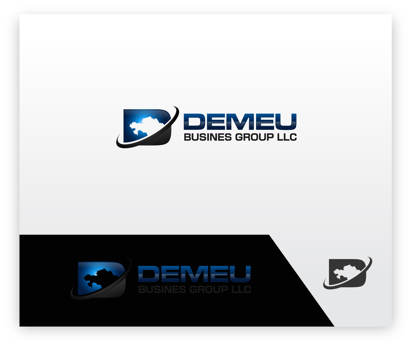 Logo Design by zoiDesign - Entry No. 111 in the Logo Design Contest Captivating Logo Design for DEMEU Business Group.