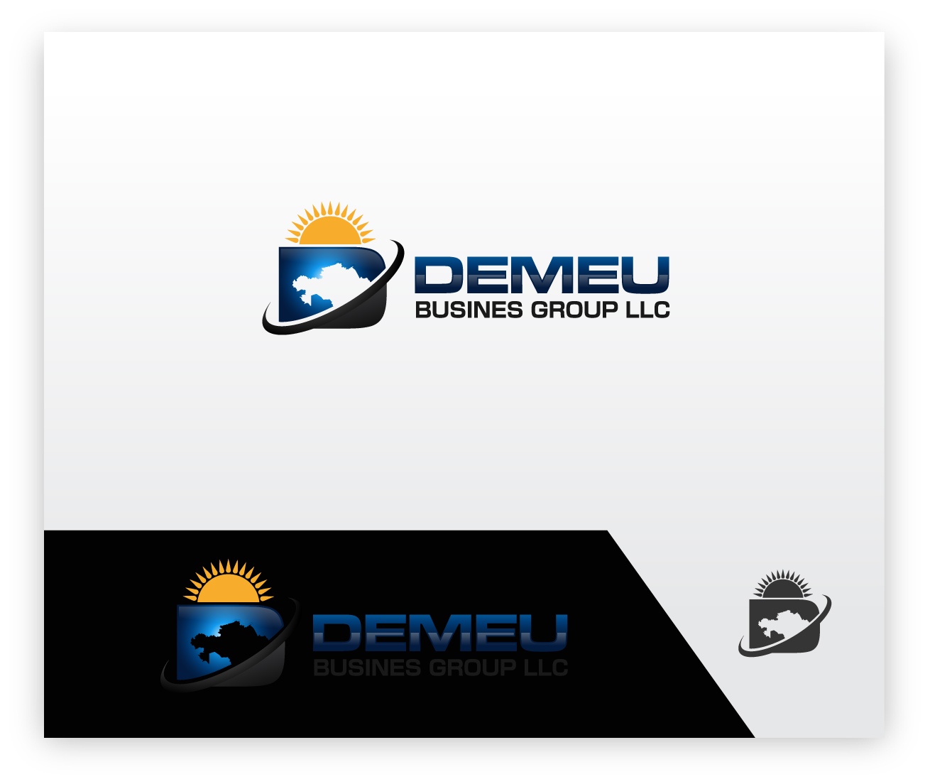 Logo Design by zoiDesign - Entry No. 112 in the Logo Design Contest Captivating Logo Design for DEMEU Business Group.