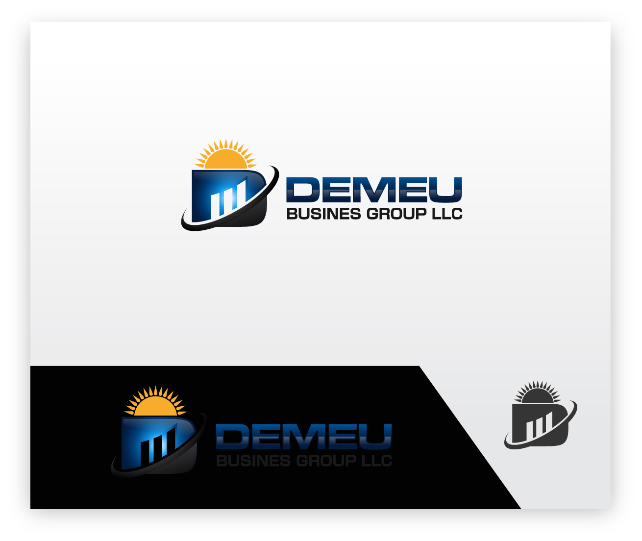 Logo Design by zoiDesign - Entry No. 113 in the Logo Design Contest Captivating Logo Design for DEMEU Business Group.