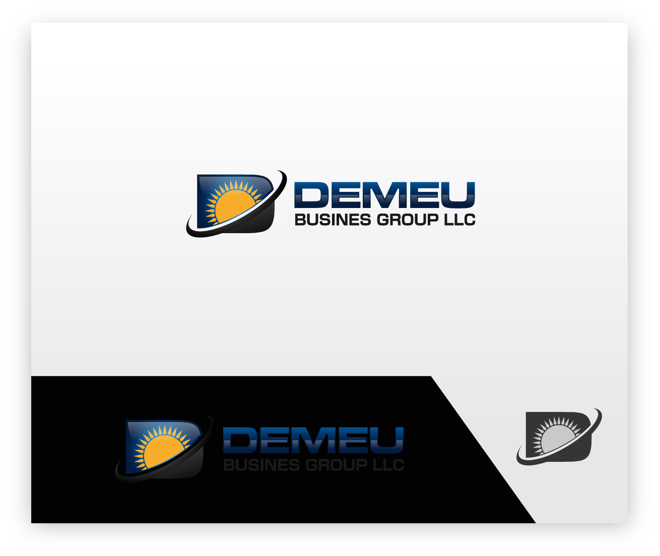 Logo Design by zoiDesign - Entry No. 114 in the Logo Design Contest Captivating Logo Design for DEMEU Business Group.