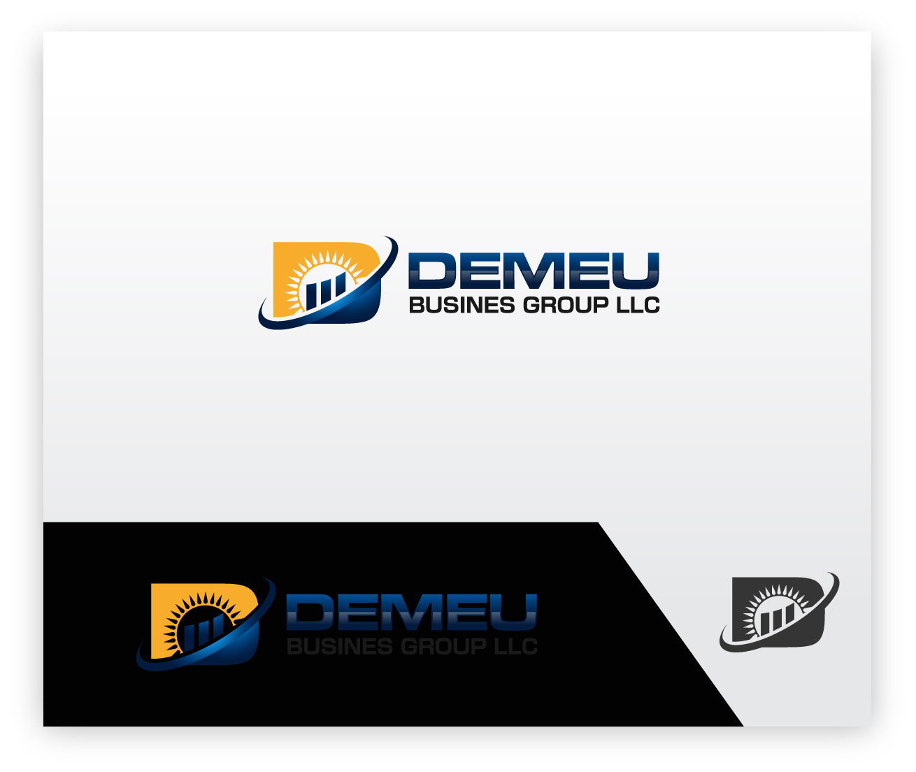 Logo Design by zoiDesign - Entry No. 116 in the Logo Design Contest Captivating Logo Design for DEMEU Business Group.