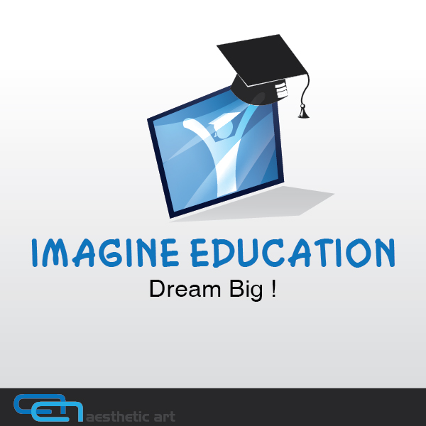 Logo Design by aesthetic-art - Entry No. 30 in the Logo Design Contest Imagine Education.
