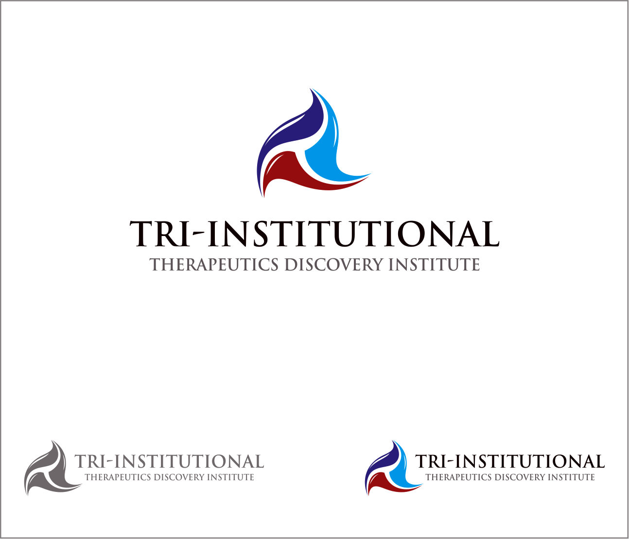 Logo Design by Armada Jamaluddin - Entry No. 150 in the Logo Design Contest Inspiring Logo Design for Tri-Institutional Therapeutics Discovery Institute.