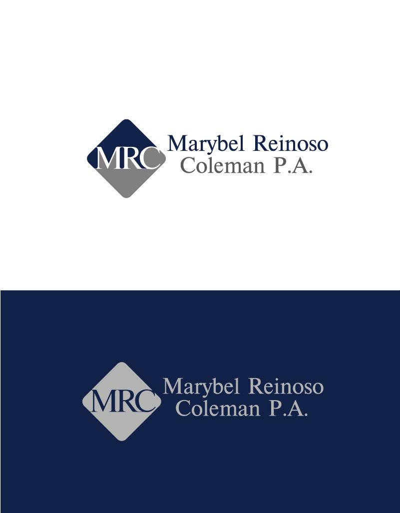 Logo Design by Private User - Entry No. 50 in the Logo Design Contest Creative Logo Design for Marybel Reinoso Coleman P.A..