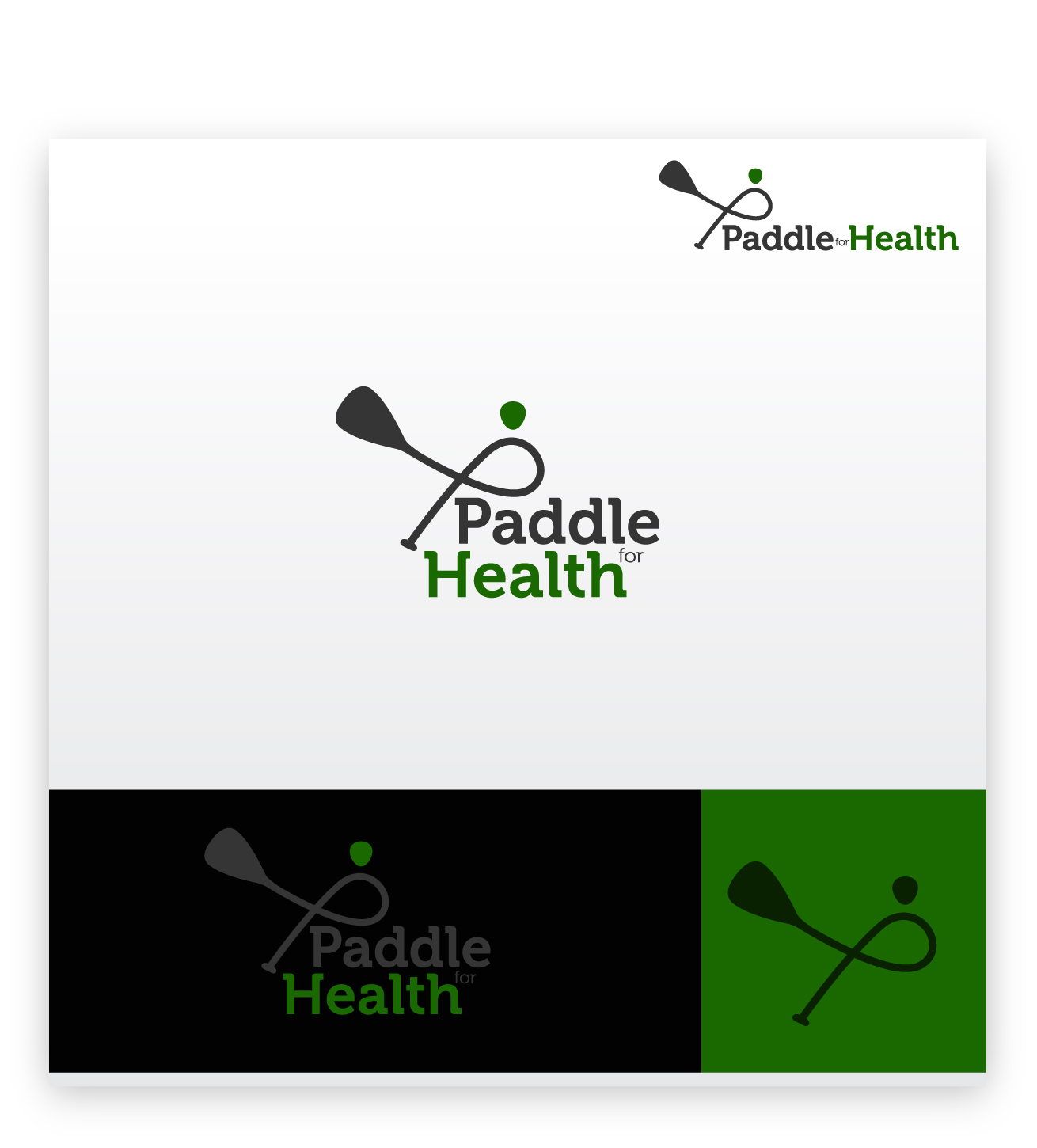 Logo Design by zoiDesign - Entry No. 25 in the Logo Design Contest Creative Logo Design for Paddle for Health.