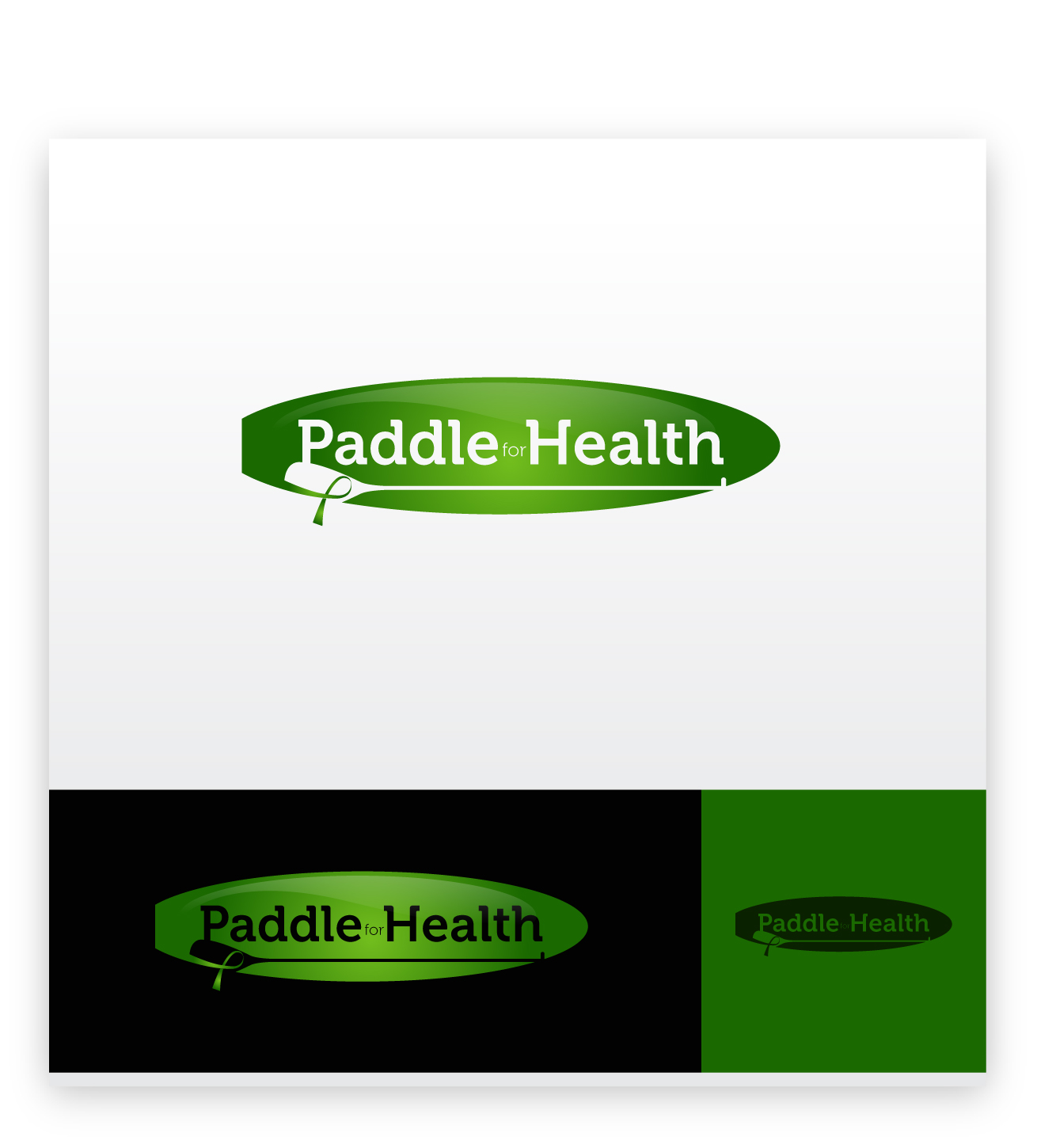 Logo Design by zoiDesign - Entry No. 26 in the Logo Design Contest Creative Logo Design for Paddle for Health.