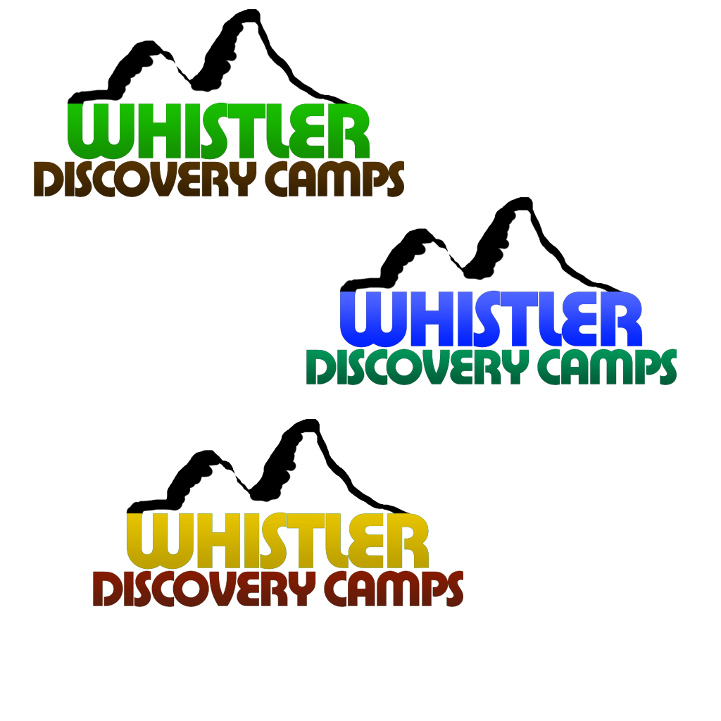 Logo Design by KingCustoms - Entry No. 15 in the Logo Design Contest Captivating Logo Design for Whistler Discovery Camps.