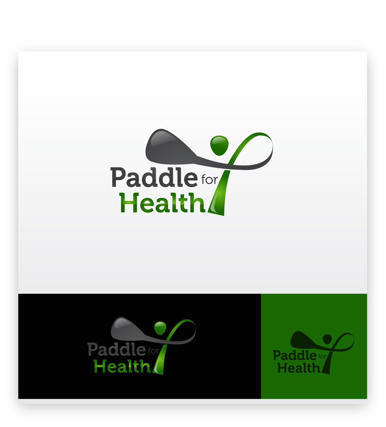 Logo Design by zoiDesign - Entry No. 27 in the Logo Design Contest Creative Logo Design for Paddle for Health.