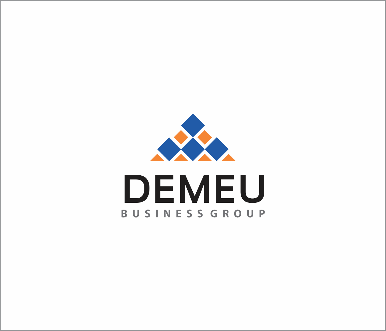 Logo Design by Armada Jamaluddin - Entry No. 121 in the Logo Design Contest Captivating Logo Design for DEMEU Business Group.