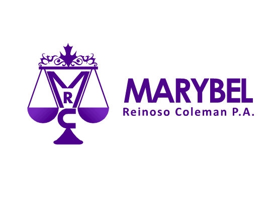 Logo Design by Ismail Adhi Wibowo - Entry No. 60 in the Logo Design Contest Creative Logo Design for Marybel Reinoso Coleman P.A..