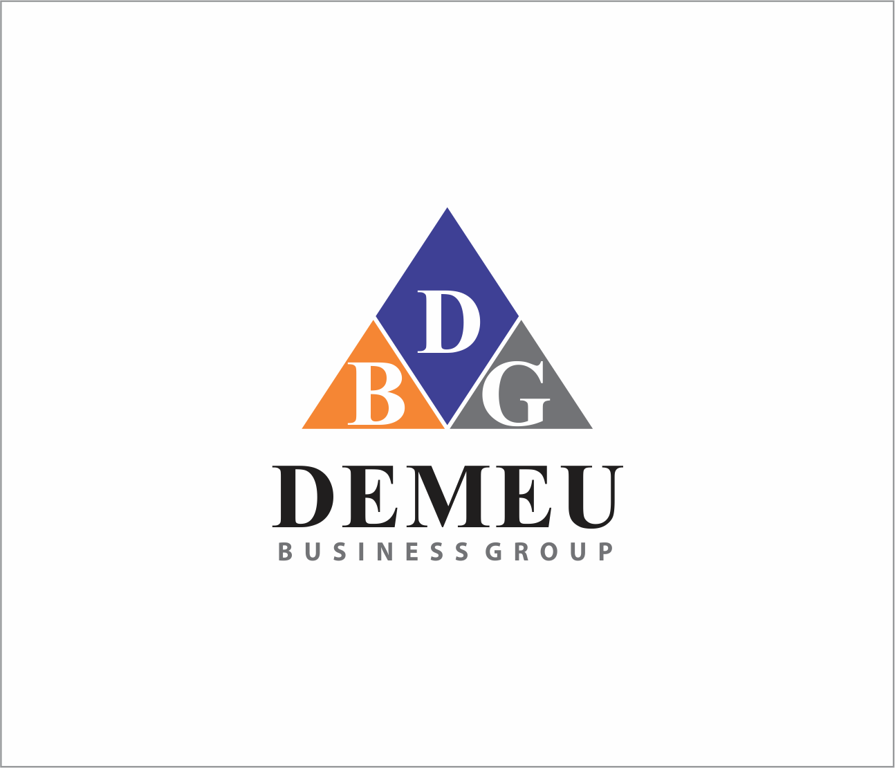 Logo Design by Armada Jamaluddin - Entry No. 123 in the Logo Design Contest Captivating Logo Design for DEMEU Business Group.