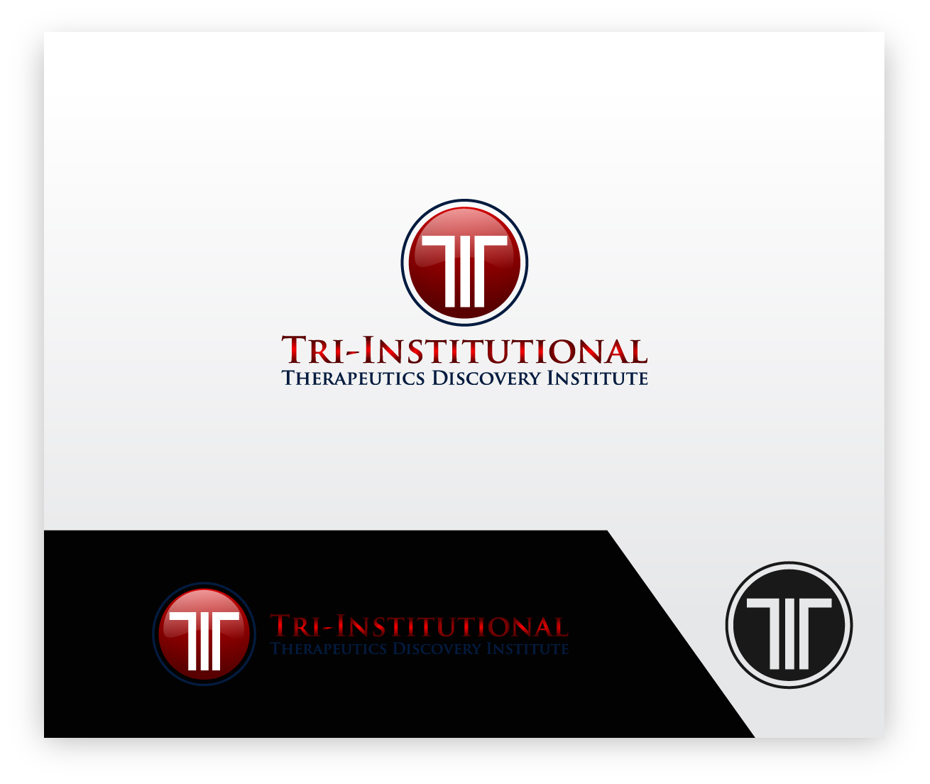 Logo Design by zoiDesign - Entry No. 167 in the Logo Design Contest Inspiring Logo Design for Tri-Institutional Therapeutics Discovery Institute.