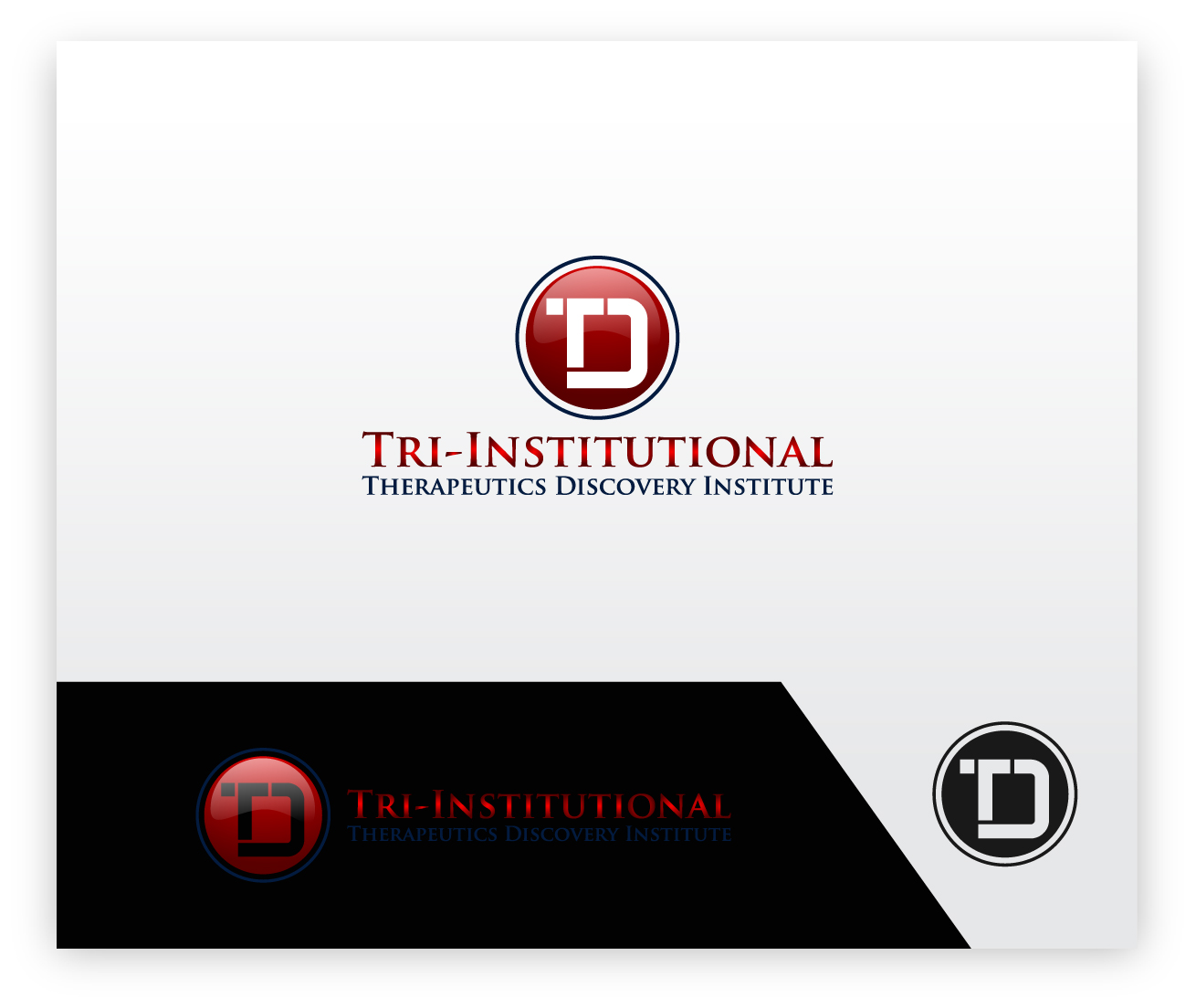 Logo Design by zoiDesign - Entry No. 168 in the Logo Design Contest Inspiring Logo Design for Tri-Institutional Therapeutics Discovery Institute.