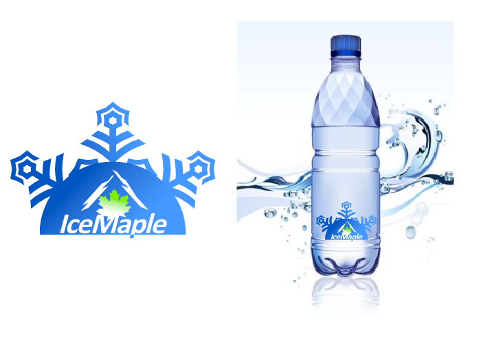 Packaging Design by Ismail Adhi Wibowo - Entry No. 9 in the Packaging Design Contest Unique Label/Packaging Design Wanted for Premium Bottled Water (Maple Ice).