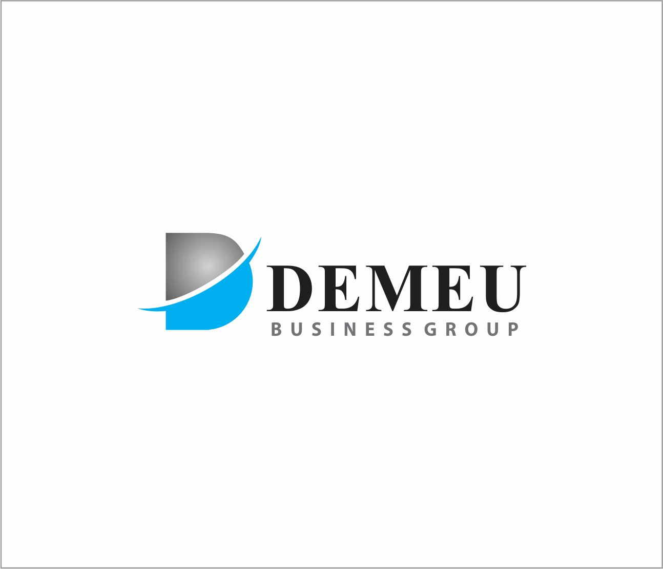 Logo Design by Armada Jamaluddin - Entry No. 126 in the Logo Design Contest Captivating Logo Design for DEMEU Business Group.