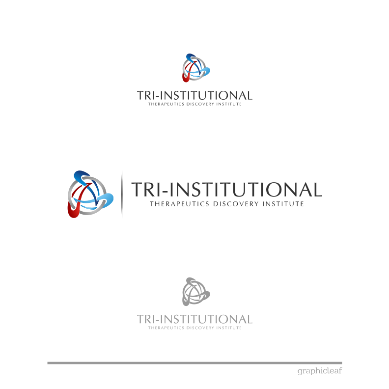 Logo Design by graphicleaf - Entry No. 172 in the Logo Design Contest Inspiring Logo Design for Tri-Institutional Therapeutics Discovery Institute.