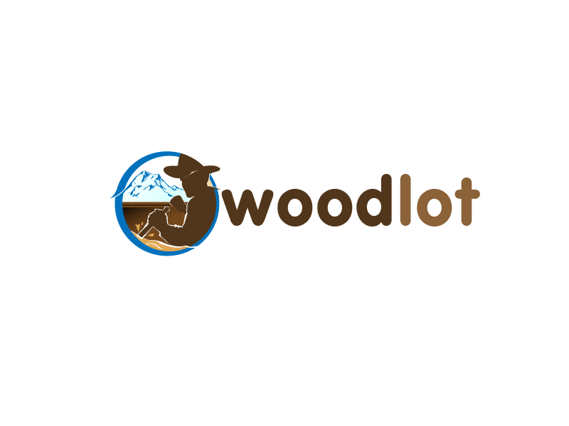 Logo Design by Private User - Entry No. 44 in the Logo Design Contest Fun Logo Design for woodlot.