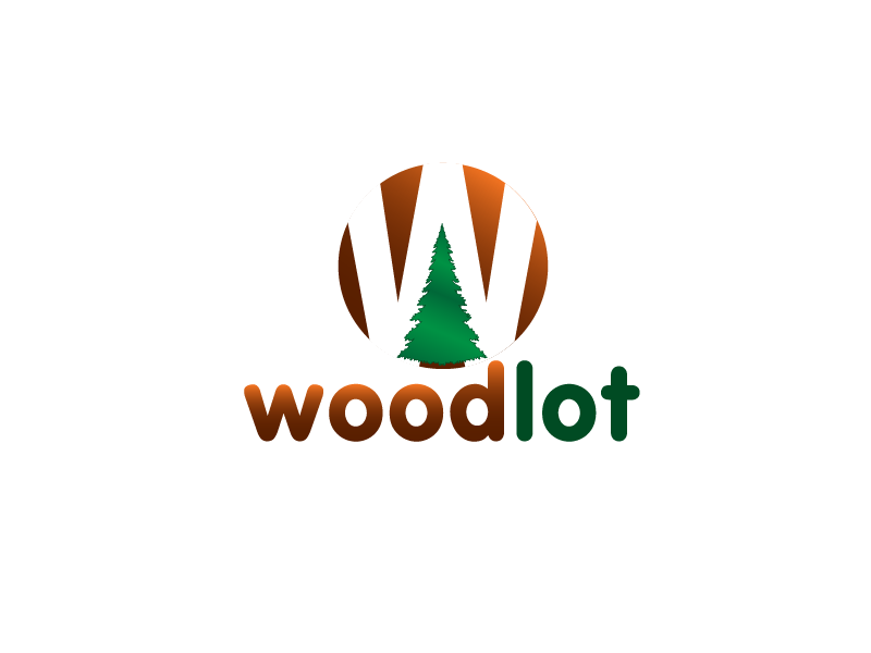 Logo Design by Private User - Entry No. 45 in the Logo Design Contest Fun Logo Design for woodlot.