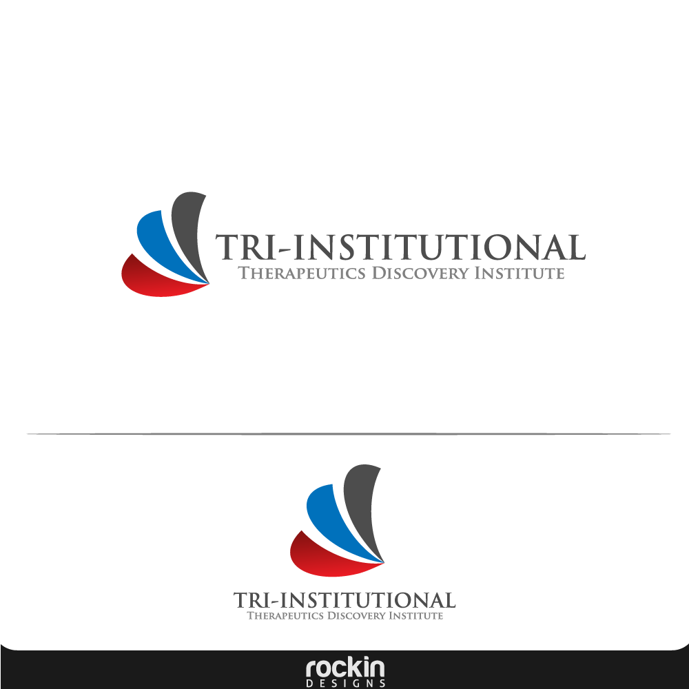 Logo Design by rockin - Entry No. 181 in the Logo Design Contest Inspiring Logo Design for Tri-Institutional Therapeutics Discovery Institute.