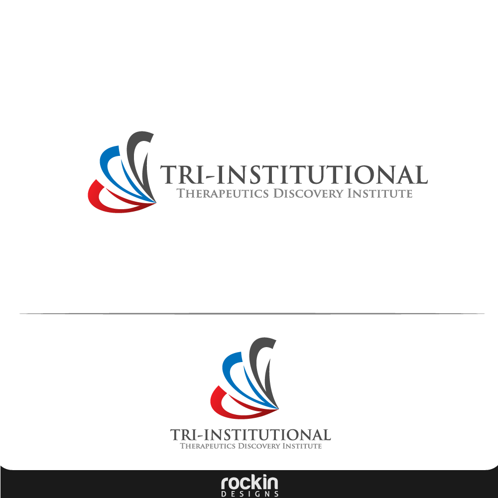 Logo Design by rockin - Entry No. 182 in the Logo Design Contest Inspiring Logo Design for Tri-Institutional Therapeutics Discovery Institute.